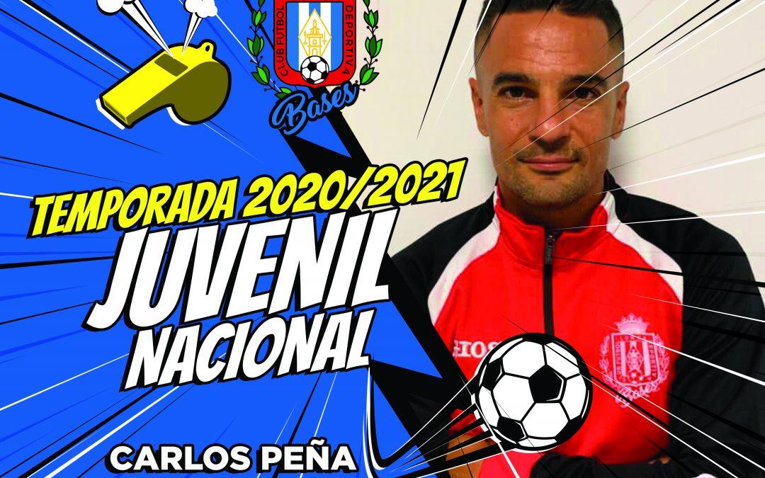 Carlos Peña dirigirá el Juvenil de Liga Nacional