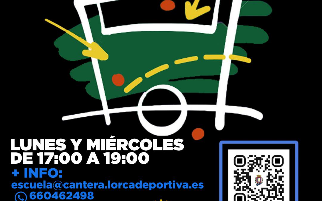 El Cantera Lorca Deportiva abre la inscripción de su escuela para la próxima temporada que tendrá un novedoso formato