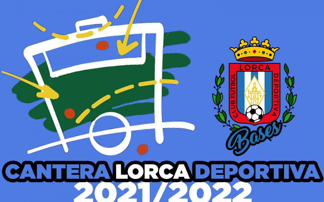 El Cantera Fútbol Lorca Deportiva abre el periodo de inscripción para sus captaciones de cara a la temporada 2021/2022