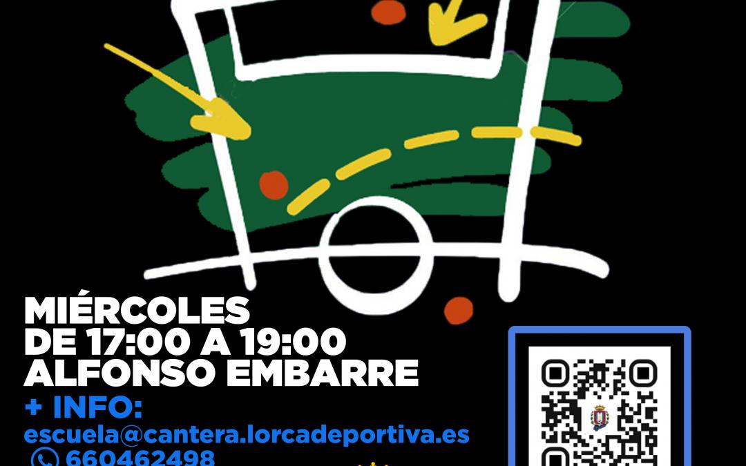 La Escuela de Fútbol de la Cantera Lorca Deportiva comenzará el próximo miércoles 22 de septiembre
